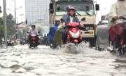Bài toán chống ngập 500 m đường Nguyễn Hữu Cảnh của TP HCM