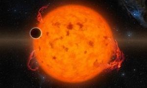 Ngôi sao 'ăn thịt' những hành tinh trong hệ