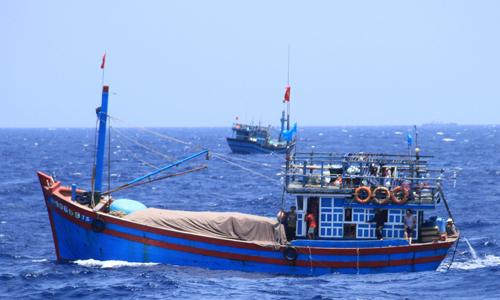Một tàu cá Việt Nam. Ảnh: Nguyễn Đông.