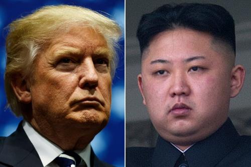 Tổng thống Mỹ Donald Trump và lãnh đạo Triều Tiên Kim Jong-un. Ảnh: AP, Reuters.