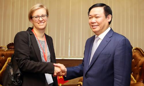 Đức quan tâm việc hợp tác bảo vệ môi trường với Việt Nam
