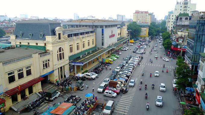Hiện trạng khu vực ga Hà Nội trước đề xuất xây cao ốc