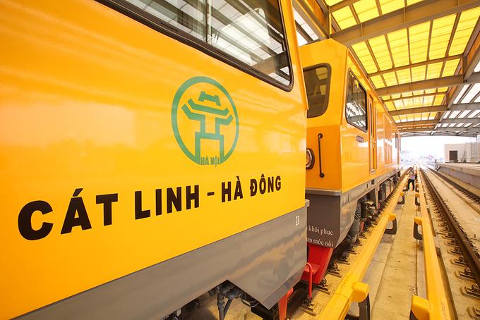 Tuyến đường sắt đô thị đầu tiên chạy tàu thử nghiệm