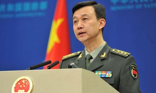 Ông Ngô Khiêm, người phát ngôn Bộ Quốc phòng Trung Quốc. Ảnh: 81.cn.