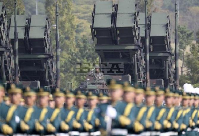 Hàn Quốc phô diễn sức mạnh trong Ngày Các lực lượng vũ trang