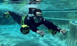Thiết bị tự chế giúp người dùng bơi nhanh hơn cả Michael Phelps