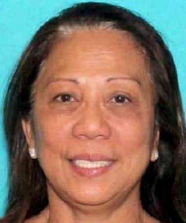 Marilou Danley, người đang bị cảnh sát Los Angeles truy tìm. Ảnh: Reuters.