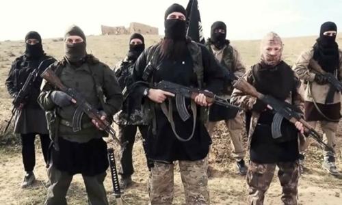 Phiến quân Nhà nước Hồi giáo. Ảnh: AP.