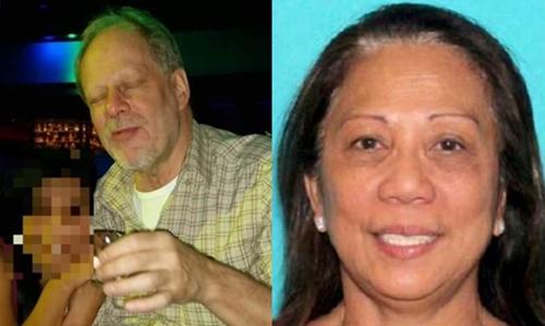 Stephen Paddock (trái) và Marilou Danley. Ảnh: CBS News/Reuters.