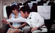 Nữ hành khách Nhật hốt hoảng vì ngồi cạnh tiếp viên rởm