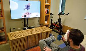 Công nghệ biến đồ vật trong nhà thành điều khiển TV