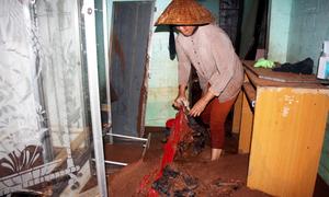 Nhiều nhà dân ở Bà Rịa - Vũng Tàu tan hoang sau khi vỡ đập
