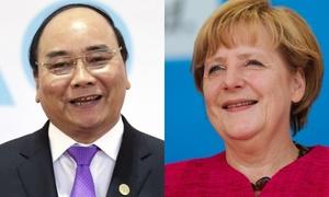 Lãnh đạo Việt Nam gửi điện mừng quốc khánh Đức