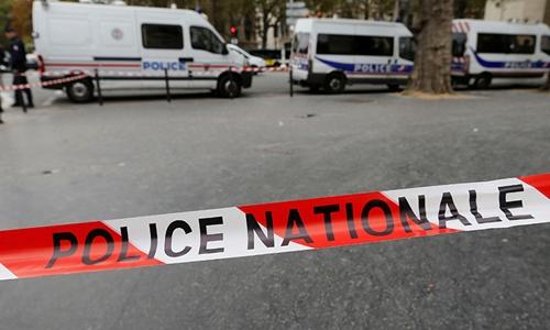 Một vụ nổ xảy ra bên ngoài tòa nhà phái đoàn quấn sự của Jordan ở Pháp. Ảnh minh họa: Reuters.