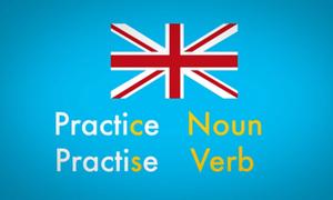 Phân biệt 'practise' và 'practice'
