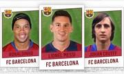 Lịch sử Barca gọi tên Cruyff, Ronaldinho và Messi