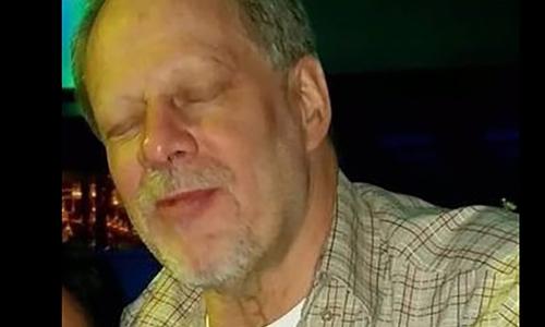 Nghi can Stephen Paddock của vụ xả súng ở Las Vegas. Ảnh: CNN.