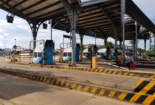 Trạm BOT tuyến tránh Biên Hòa xả trạm từ 15h30 ngày 5/10. Ảnh: Phước Tuấn
