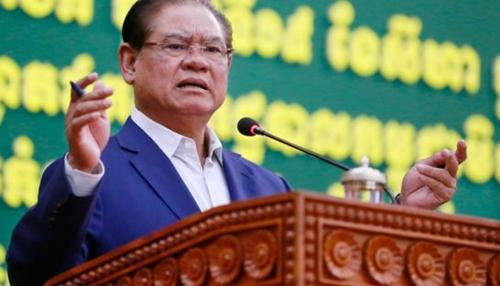 Bộ trưởng Nội vụ Sar Kheng. Ảnh: PhnomPenhPost.