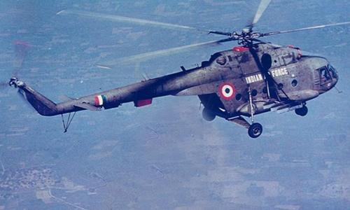 Trực thăng Mi-17 của không quân Ấn Độ. Ảnh: India Air Force.