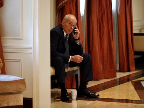Chánh văn phòng Nhà Trắng John Kelly. Ảnh: Reuters.