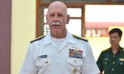 Tư lệnh hạm đội Mỹ thăm di tích bãi cọc Bạch Đằng