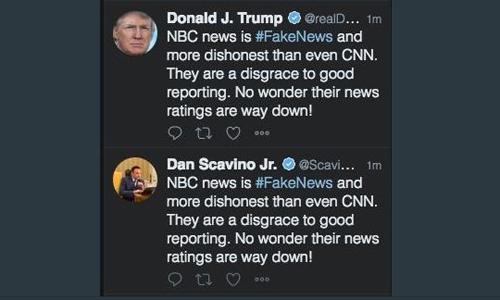 Người dùng Twitter nhận được hai thông báo có nội dung giống hệt nhau. Ảnh chụp màn hình: Twitter.