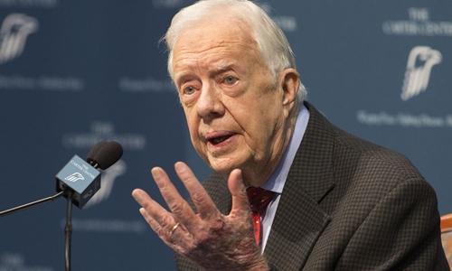 Cựu tổng thống Mỹ Jimmy Carter. Ảnh: Politico.