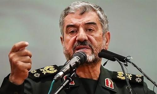 Ali Jafari, đứng đầu Vệ binh Cách mạng Iran. Ảnh: Tasnim.