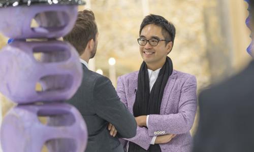 Adrian Cheng, một trong những nhà sưu tầm tác phẩm nghệ thuật thuộc thế hệ mới ở Hong Kong. Ảnh: Adrian Cheng.
