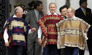 Trang phục truyền thống của các nước chủ nhà APEC