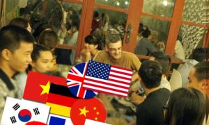 Nơi giao lưu 8 thứ tiếng tại Sài Gòn