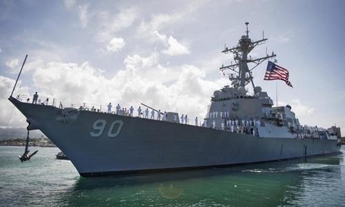 Tàu USS Chafee. Ảnh: Naval Today.