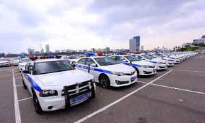 Dàn xe chuyên dụng của CSGT tại APEC 2017 ở Đà Nẵng
