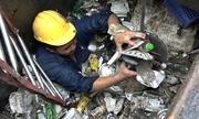 Chủ đầu tư tố cáo 'bị phá hoại' khiến máy bơm khổng lồ tê liệt
