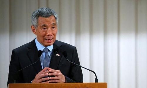 Thủ tướng Singapore Lý Hiển Long. Ảnh: Reuters.