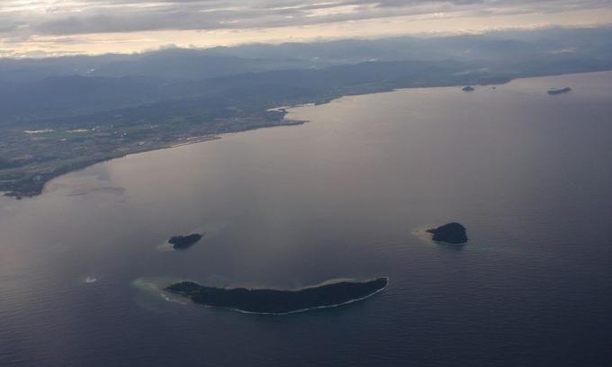 Những hòn đảo có hình dạng độc đáo trên thế giới