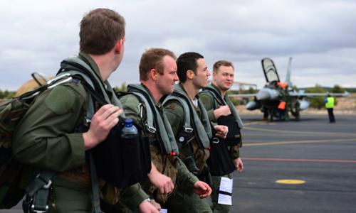 Phi công của Không quân Mỹ. Ảnh: Không quân Mỹ.