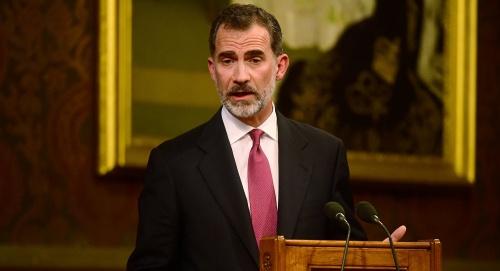 Vua Felipe của Tây Ban Nha. Ảnh: Reuters.