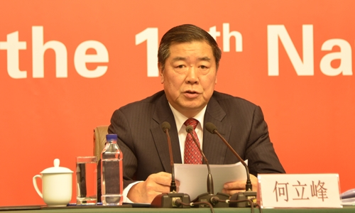 Ông Hà Lập Phong. Ảnh: Thùy Trang.