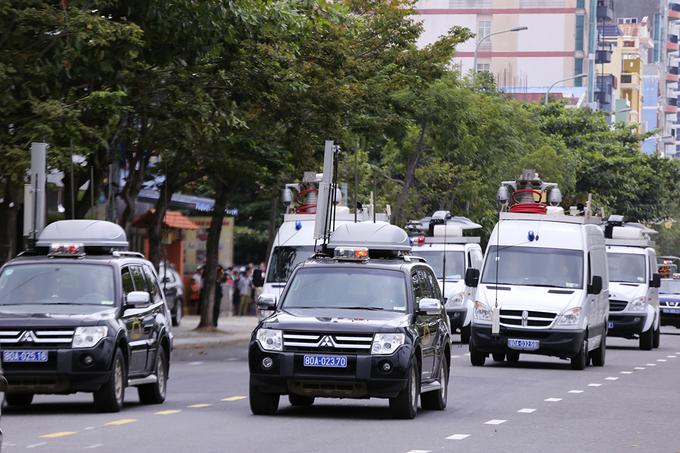 Xe chống khủng bố của lực lượng đặc nhiệm bảo vệ APEC