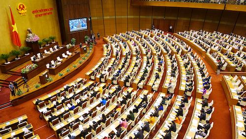 Khai mạc kỳ họp thứ tư Quốc hội khoá 14