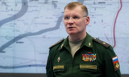 Ông Igor Konashenkov, người phát ngôn Bộ Quốc phòng Nga. Ảnh: Sputnik.
