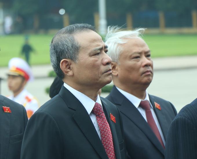 Lãnh đạo cấp cao trước giờ khai mạc Quốc hội
