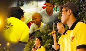 Hát rong quyên góp giúp bệnh nhi nghèo ở Sài Gòn