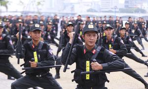 Công an, quân đội xuất quân bảo vệ APEC