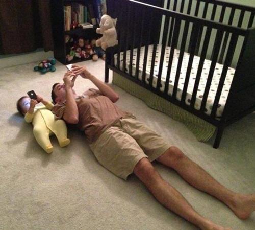 Đúng là cha nào con nấy.