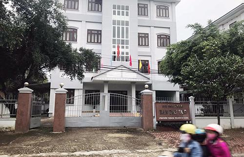 Trụ sở Ban Dân tộc tỉnh Quảng Ngãi. Ảnh: Thạch Thảo.