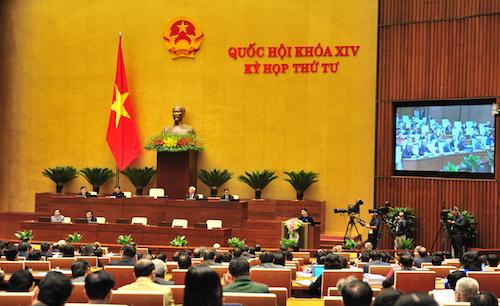 Hôm nay Quốc hội thảo luận về cải cách bộ máy hành chính