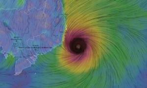Áp thấp nhiệt đới kép đang uy hiếp TP HCM và nhiều tỉnh Nam Bộ